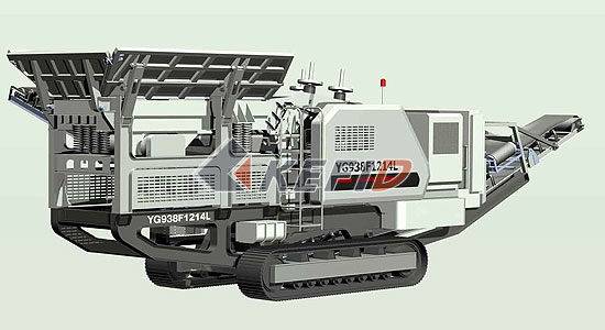 Crawler Impact Crusher