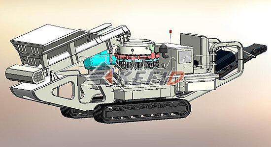 Crawler Cone Crusher